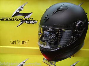 SCORPION-EXO-490-FULL-FACE-MOTORCYCLE-HELMET-WITH-SUN-VISOR-5-YEAR-WARRANTY