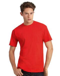 B-amp-C-Men-039-s-Exact-150-T-Shirt-B-and-C-Mens-Short-Sleeve-T-Shirt-TU002