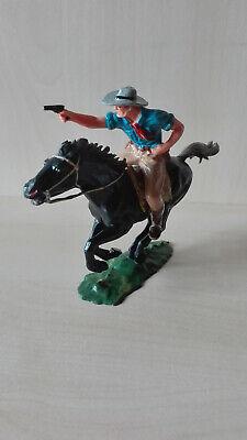 Elastolin 7 Cm..cowboyreiter Mit Pistole..top