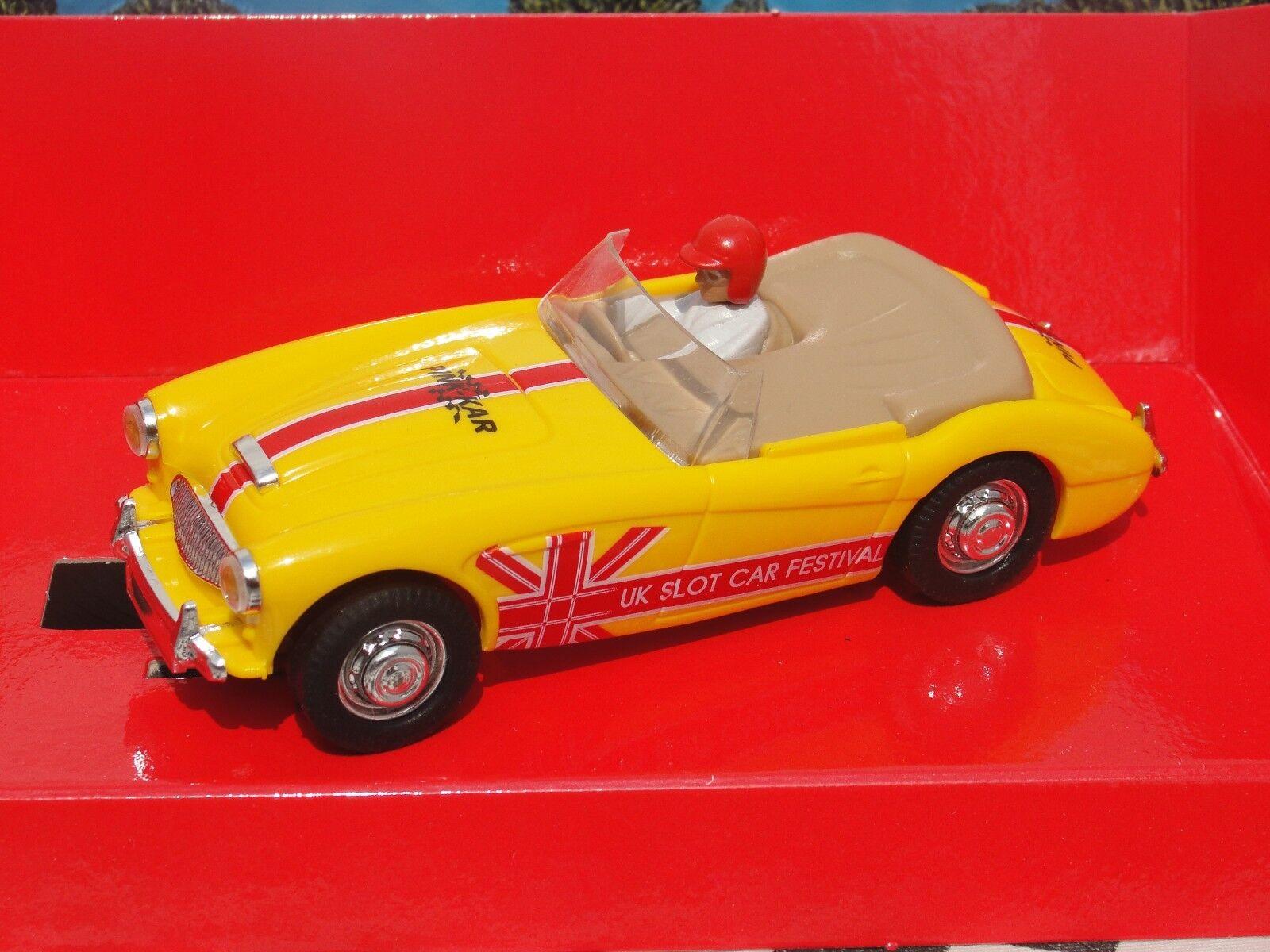 PINK KAR AUSTIN HEALEY 3000 'UK SLOT CAR FESTIVAL'  CC 021  SLOT BNIB LE