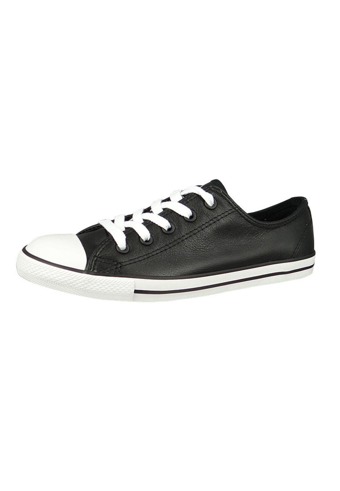 Converse Chucks 537107C Chuck Taylor AS Dainty OX Black black Gr. 36 - 41