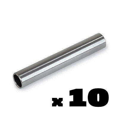 10, 5, 3 or 1 LOT 304 Stainless Steel Tattoo Back Stems Tube Grip Grips Backstem