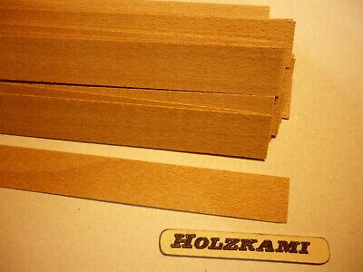 300mm x 10mm x 0.6mm  Selbstklebend Eiche Schwarz Holzleisten 25 Stück