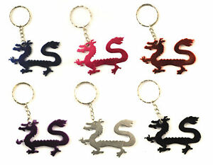 Chinese-Dragon-Keyring-Metal-Colour-Keychain