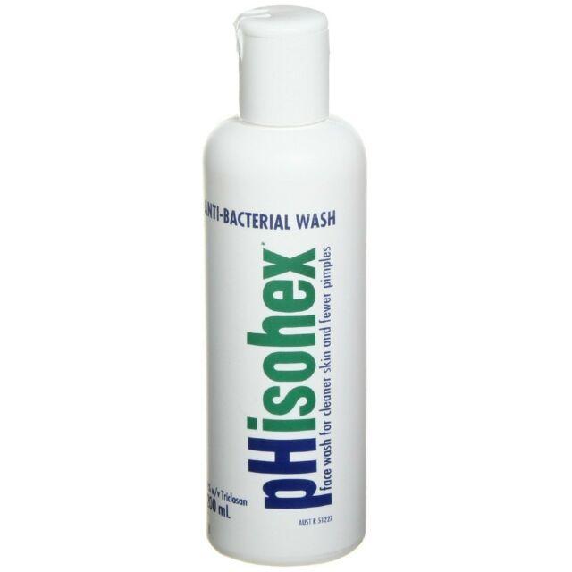 Phisohex Anti Bacterial Face Wash 200ml For Sale Online Ebay