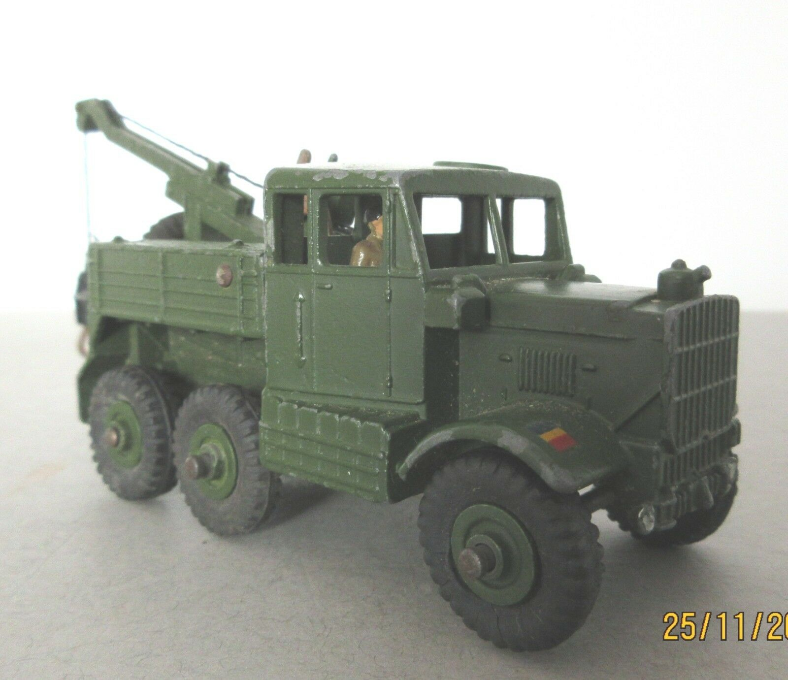 Dinky Toys Army Military Scammell Recovery Tractor - 1950's Post War Dinky Toy