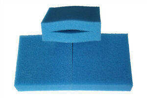 Generisch 250mm x 250mm x 80mm Ersatz Filterschwamm für Oase Biotec 5/10/30 Rauh