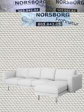 Ikea NORSBORG Bezug 2er Sitzelement 503.040.75 Finnsta weiß neu OVP Ersatzbezug