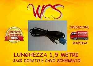 Cavo AUX ISO BLU per radio Alfa 147 156 equivalente cavo Blaupunkt 7607897093