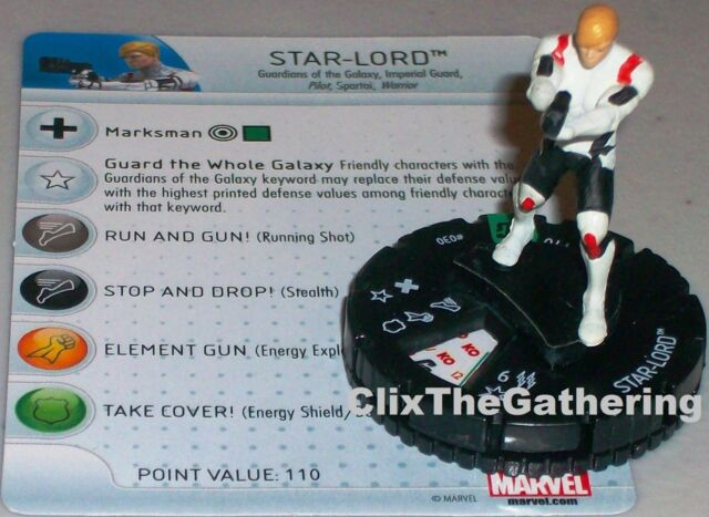 STAR-LORD #030 Guardians of the Galaxy Marvel HeroClix