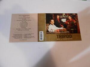TRIPOD-MEN-OF-SUBSTANCE-13-TRACK-DIGIPAK-CD-AUSTRALIA-2012
