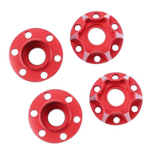4Pcs 9mm Wheel Hex Hub Drive Adapters for 1//10 Axial SCX10 TRX4 RC Car