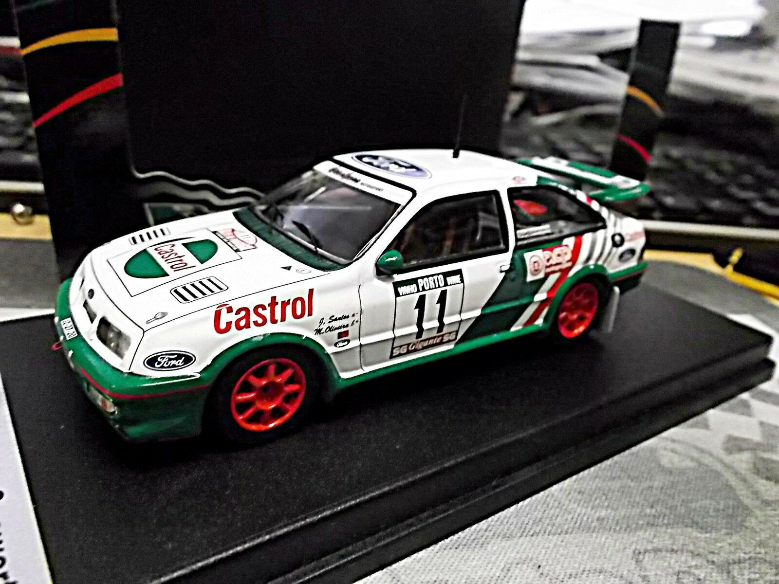 Ford sierra cosworth rs diabolique rallye portugal santos 1989 1989 1989 Lim trofeu 1 43 ae903e