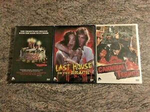 3-Severin-Horror-DVD-Lot-Bloody-Birthday-Last-House-on-the-Beach-Cannibal-Terror