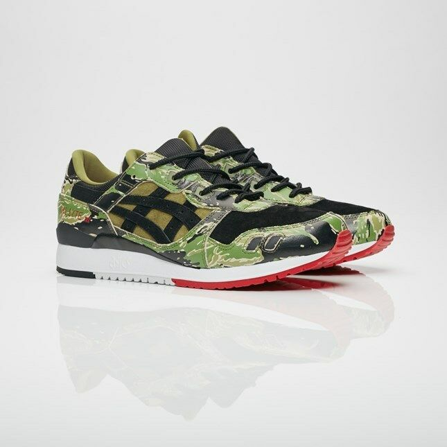 "ASICS Tiger × atmos GEL-LYTE III ""GREEN CAMO"" HK724-8890 Men Sizes NEW Limited"