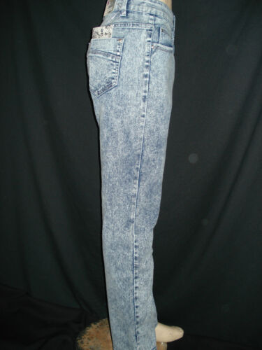 New womens ladies blue marle effect jeans plus sizes 18-24