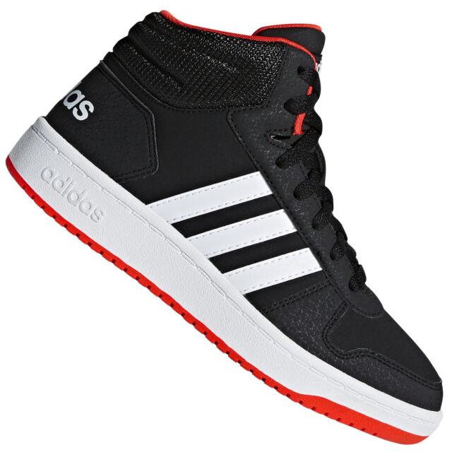 Zapatos Adidas aros medio 2.0 K talla 31 B75743 negro