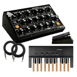moog minitaur analog bass synthesizer taurus rig 2 ebay. Black Bedroom Furniture Sets. Home Design Ideas