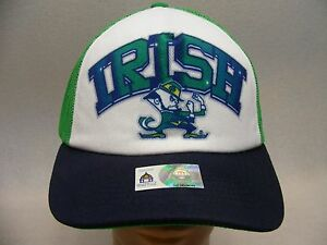 cheap for discount e477a 73083 Image is loading NOTRE-DAME-FIGHTING-IRISH-NCAA-FBS-TRUCKER-STYLE-