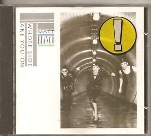 MATT-BIANCO-Who-039-s-Side-Are-You-On-1984-Germany-WEA-CD-ALB-BASIA