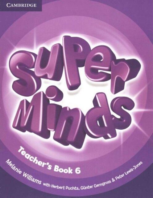 Super Minds Level 6 Teacher's Book by Williams, Melanie (Paperback book, 2014)
