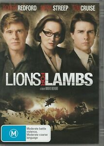 Lions-For-Lambs-DVD-2008-Rated-M-Region-4-PAL-Redford-Meryl-Streep-Tom-Cruise