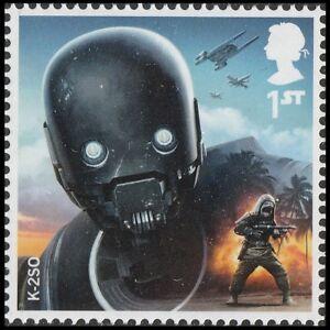 Details About Gb 3659 4016 Star Wars K 25o Single 1 Stamp Mnh 2017