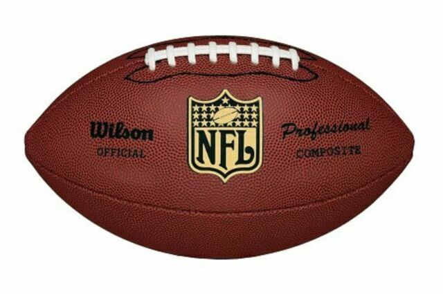 Nfl Pro Replica Wilson F1825 Game Football Official Size Foot Ball The Duke For Sale Online Ebay