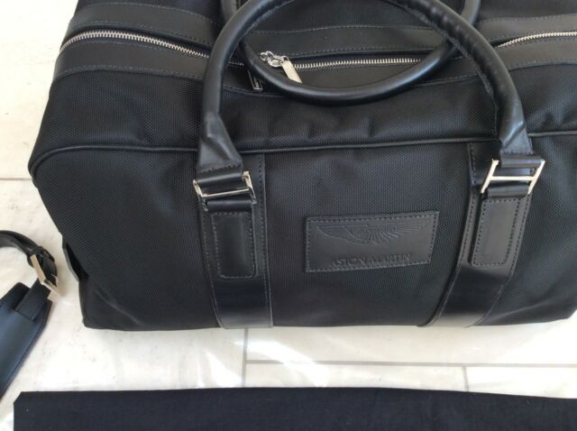 Aston Martin Holdall Large Fabric Leather New Genuine Aston Accessory For Sale