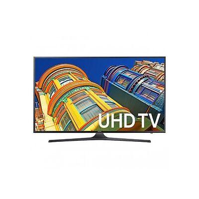 "Samsung UN43KU6300 43"" Black LED UHD 4K Smart HDTV - UN43KU6300FXZA"