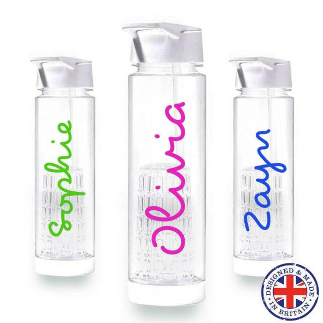 Love Island Style Personalised Name Sticker Create your own Water Bottle Decal