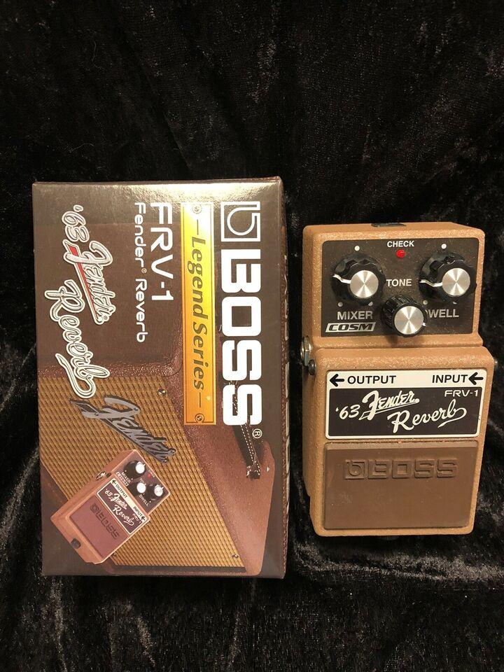 Fodpedal, Andet mærke Fender '63 Reverb FRV-1