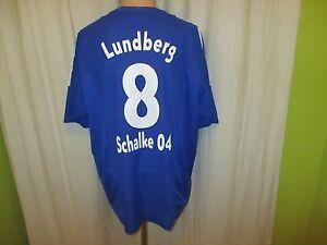 FC-Schalke-04-Adidas-Heim-Trikot-2003-04-034-Victoria-034-Nr-8-Lundberg-Gr-XL