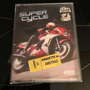 Super Cycle jeu Amstrad cpc 6128 464 disk non testé + boite