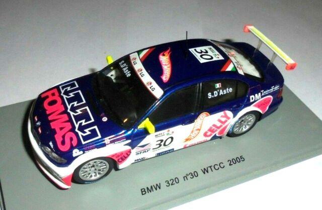 BMW 320 E46 WTCC 2005 #1 #2 #4 #30 #41 #43 SPARK 1:43