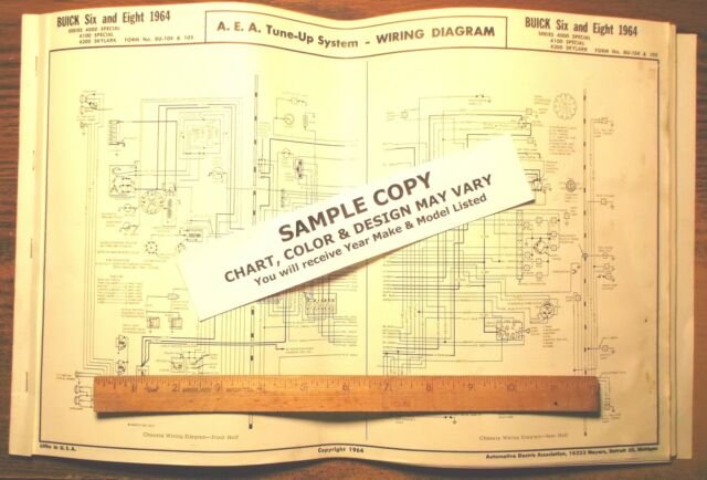 1964 kaiser jeep six series j models aea wiring diagram 11 x 17 89 Jeep Wrangler Wiring Diagram 1964 kaiser jeep six series j models aea wiring diagram 11 x 17 sheet last 1