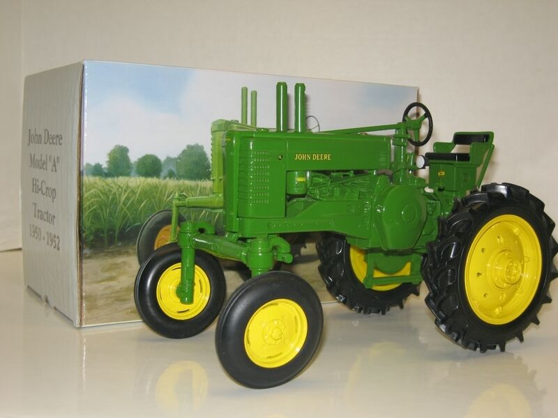 1 16 JOHN DEERE MODEL A HI-CROP 2 CYL. CLUB EXPO X NIB free shipping