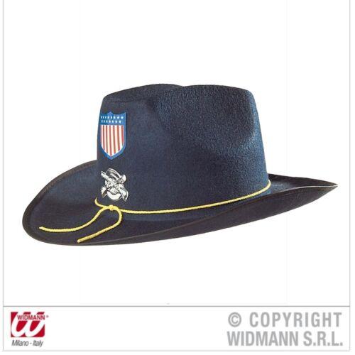 Nordstaaten Uniform Hut Kostüm Zubehör Union General Fasching Karneval Widmann