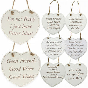 NEW-HANGING-WOODEN-HEART-SHAPED-PLAQUE-SIGN-MESSAGE-DECORATION-GIFT-DOOR-WALL