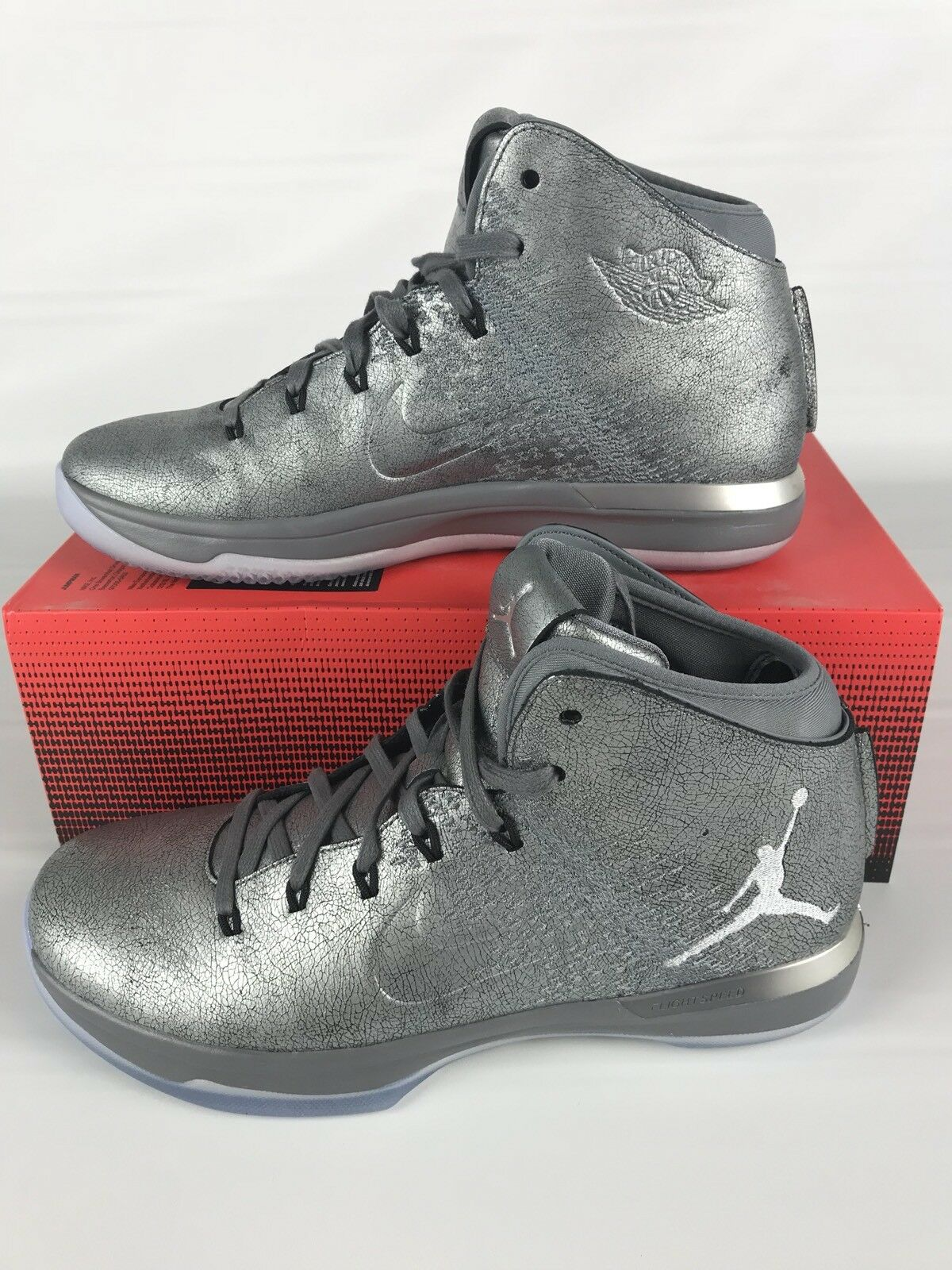 Nike Air Jordan XXXI 31 Premium size 10 Battle Cool Wolf Grey 914293 013 Great discount