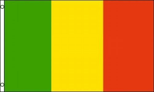 Flag of Mali 3x5 ft Country Nation African Timbuktu Republic of République du