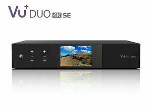 VU+ DUO SE 4K Receiver With 1 x DVB-S2X FBC Twin Tuner