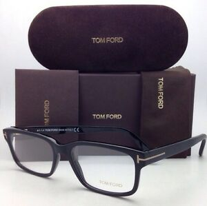 fc6c8288eb93 Brand New TOM FORD Eyeglasses TF 5313 002 55-17 Matte to Shiny Black ...