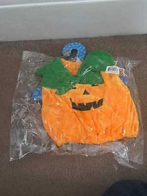 "Build a Bear style pumpkin costume for 16"" teddie"