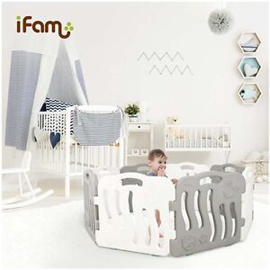 IFAM-Shell-Baby-Room-2pcs-SET-Self-Baby-Room-Standing-Fence-Choose-1-Color