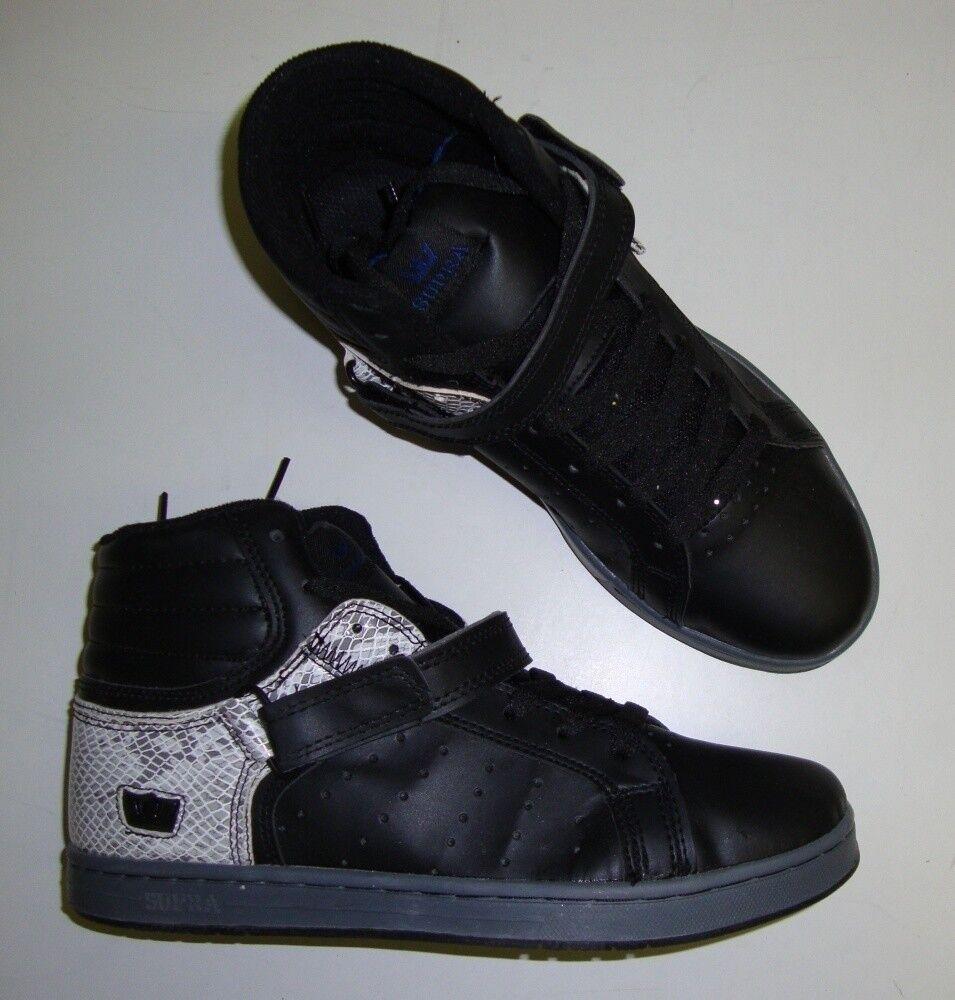 SUPRA Skaterschuhe SUPRANO Sneaker hi / Skaterschuhe SUPRA schwarz 41 NEU 71e078