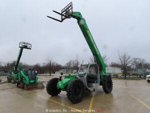 2014-Genie-GTH844-44-039-8-000-lbs-Telescopic-Reach-Forklift-Telehandler-bidadoo