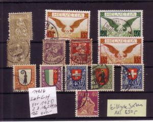 Schweiz-0-Lot-vor-1930-z-B-28-132-Michel-650-K-14826