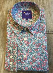 New Womens Liberty Print LIMITED EDITION Marigold Floral Shirt By Saffron Finch.