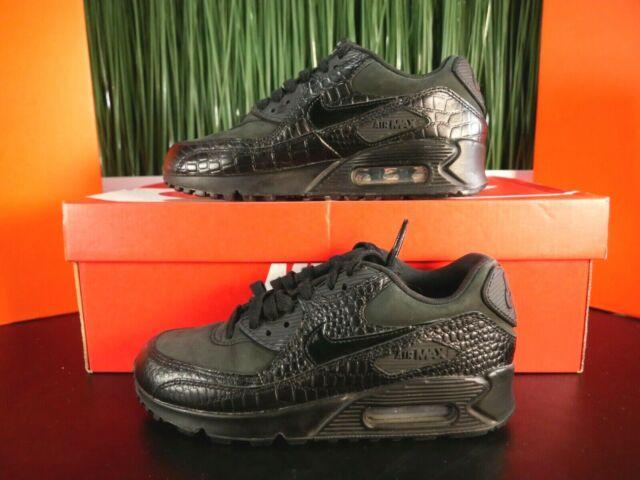 Size 6 - Nike Air Max 90 Premium Black Reptile for sale online | eBay